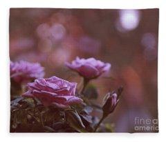 Like A Fine Rosie Of Pastels Fleece Blanket