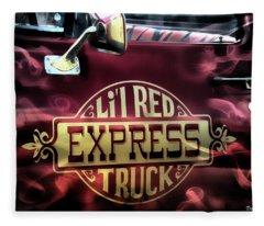 Li'l Red Fleece Blanket