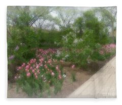 Lilac Park Fleece Blanket