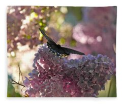 Lilac World Fleece Blanket