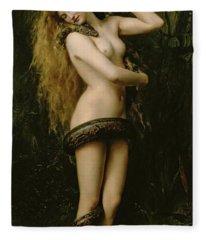 Nude Girl Fleece Blankets