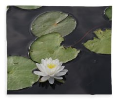 Buddhist Symbol  Fleece Blanket
