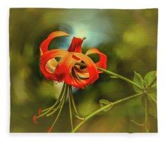 Lily #h8 Fleece Blanket