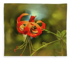Lily #h8 Fleece Blanket