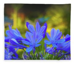 Lily Of The Nile Fleece Blanket