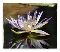 Lily Reflections Fleece Blanket
