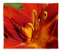 Lily Shadows Fleece Blanket