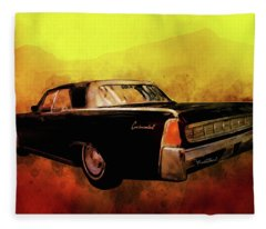 Lincoln Continental Shrine To Understated Good Looks Fleece Blanket