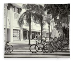Lincoln Road Fleece Blanket