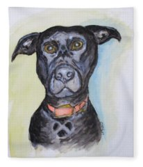 Linda's Doggie Fleece Blanket