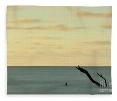Broken Horizon Fleece Blanket