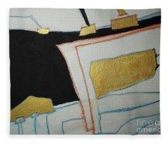 Linear-2 Fleece Blanket