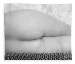 Lines #4458 Fleece Blanket