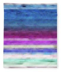 Lines Fleece Blanket