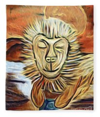 Lion Of Judah II Fleece Blanket