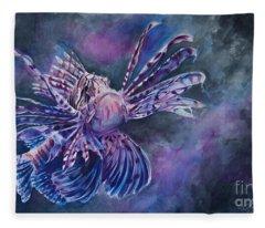 Lionfish Fleece Blanket