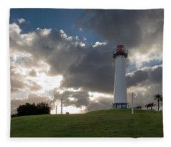 Lion's Lighthouse For Sight - 2 Fleece Blanket