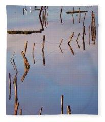 Liquid Assets Fleece Blanket