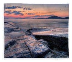 Liquid Lagoon  Fleece Blanket