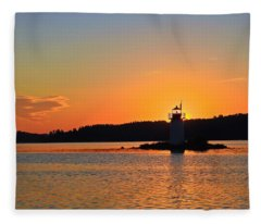 Lit By The Sun Fleece Blanket