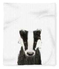 Little Badger Fleece Blanket