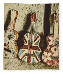 Little Britain, Big Sounds Fleece Blanket
