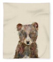 Little Brown Bear Fleece Blanket