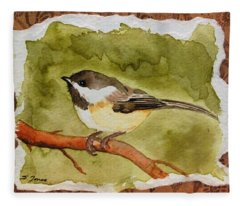 Little Chickadee Fleece Blanket