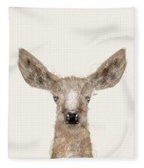 Little Deer Fawn Fleece Blanket