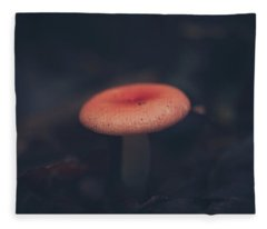 Shrooms Fleece Blankets