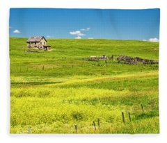 Little House On The Prairie Fleece Blanket