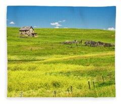 Little House On The Prairie Fleece Blanket