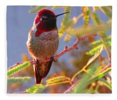 Little Jewel With Wings Second Version Fleece Blanket