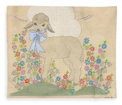 Little Lamb Lightened Fleece Blanket