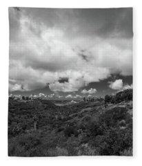Little Palm Canyon Fleece Blanket