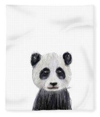 Little Panda Fleece Blanket
