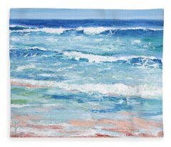 Little Riptides Fleece Blanket