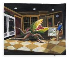 Little Shop Of Horrors Fleece Blanket
