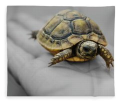 Little Turtle Baby Fleece Blanket