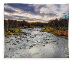 Littlefork River Fleece Blanket