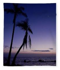Live Aloha Fleece Blanket