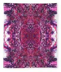 Live Fully With Loving Awareness And Intent #1383 Fleece Blanket