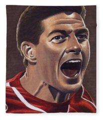 Liverpool Fc - Steven Gerrard Fleece Blanket