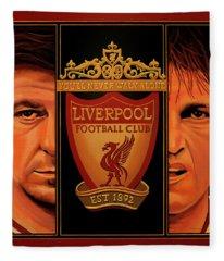 Liverpool Painting Fleece Blanket