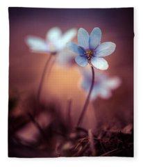 Liverworts Fleece Blanket