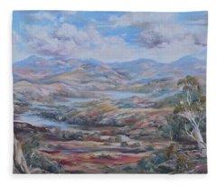Living Desert Broken Hill Fleece Blanket