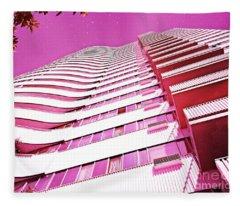 Living Pink Fleece Blanket
