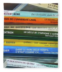 Livres ... Fleece Blanket