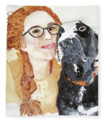 Livvy And Amos Fleece Blanket
