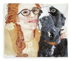 Livvy And Amos Fleece Blanket